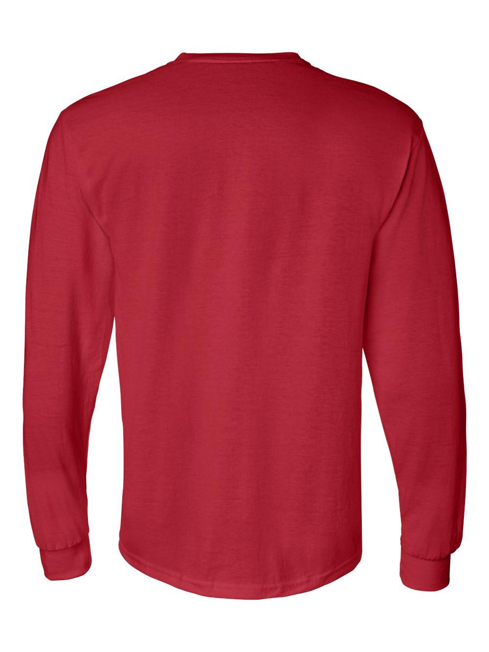Gildan-DryBlend-50-50-Long-Sleeve-T-Shirt-8400 thumbnail 31