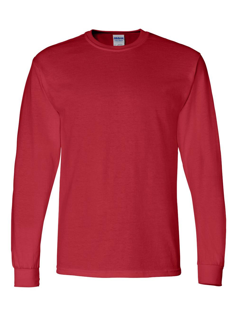 Gildan-DryBlend-50-50-Long-Sleeve-T-Shirt-8400 thumbnail 30