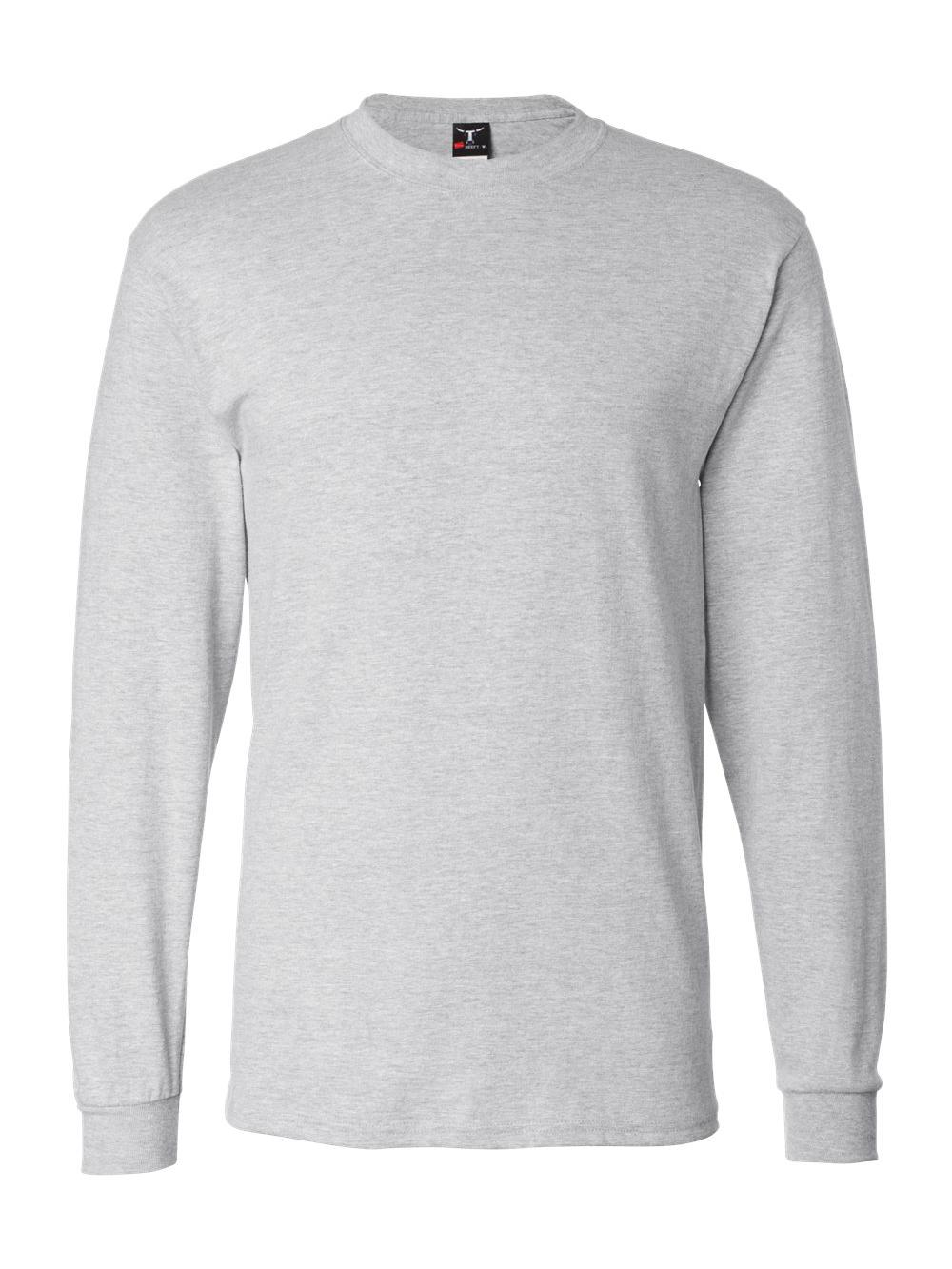 c9d03ded Hanesbrands Inc 5186 Hanes Mens Beefy-t Long-sleeve T-shirt. About this  product. Picture 1 of 4; Picture 2 of 4 ...