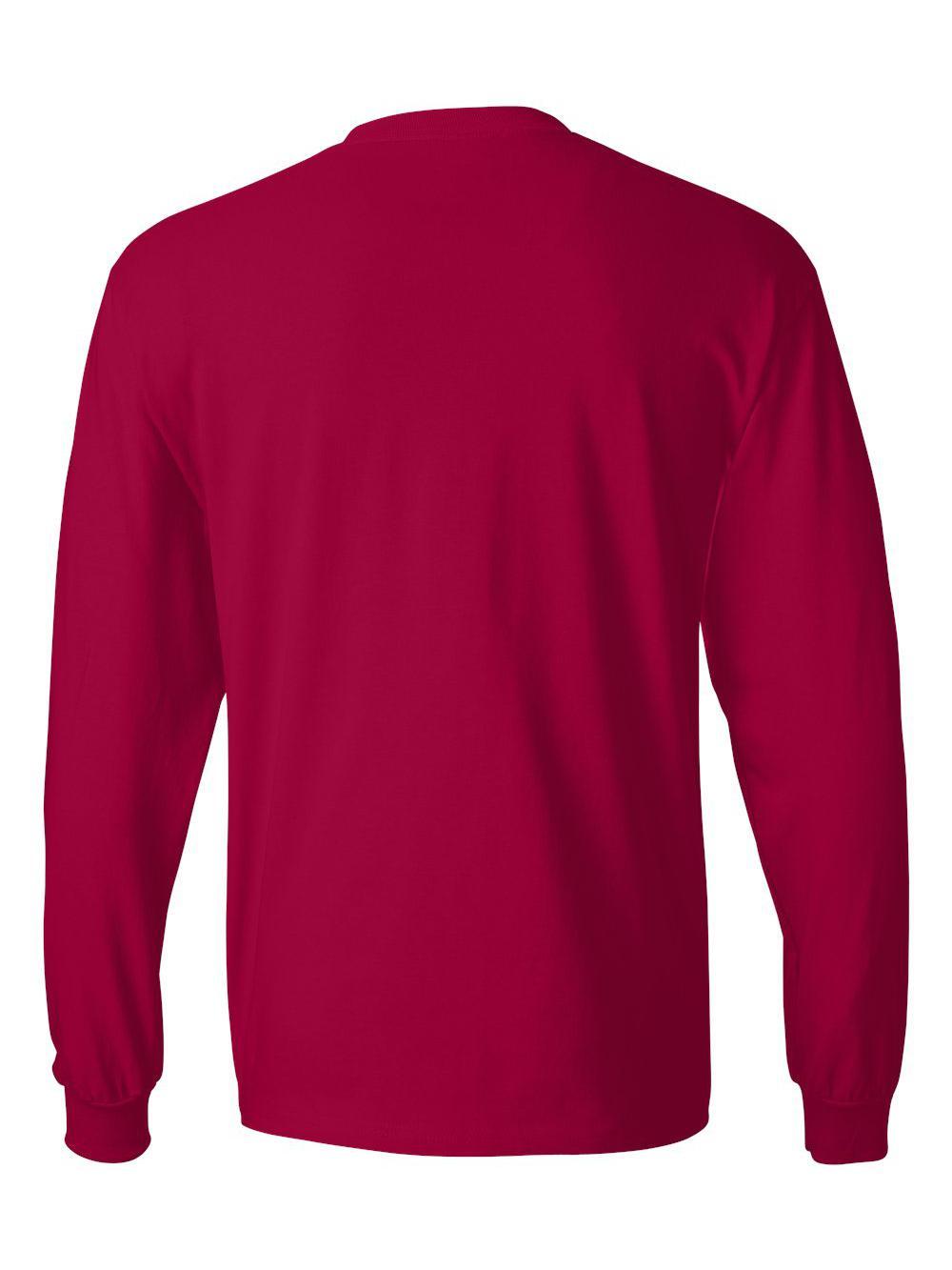 Hanes-Beefy-T-Long-Sleeve-T-Shirt-5186 thumbnail 28