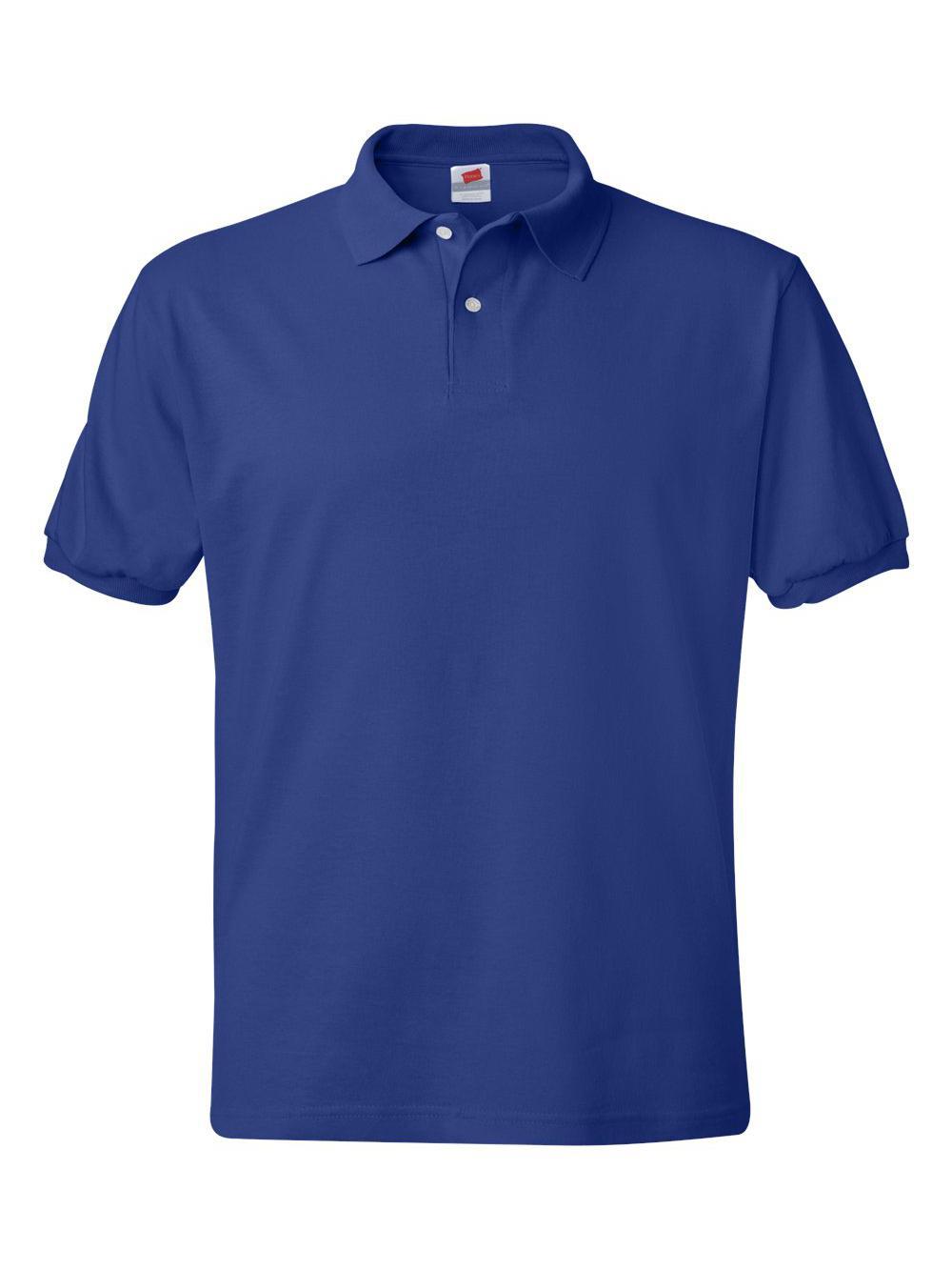 Hanes-Ecosmart-Jersey-Sport-Shirt-054X thumbnail 18