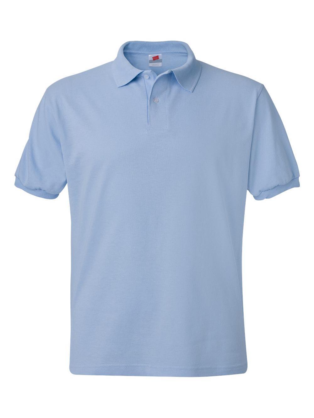 Hanes-Ecosmart-Jersey-Sport-Shirt-054X thumbnail 24