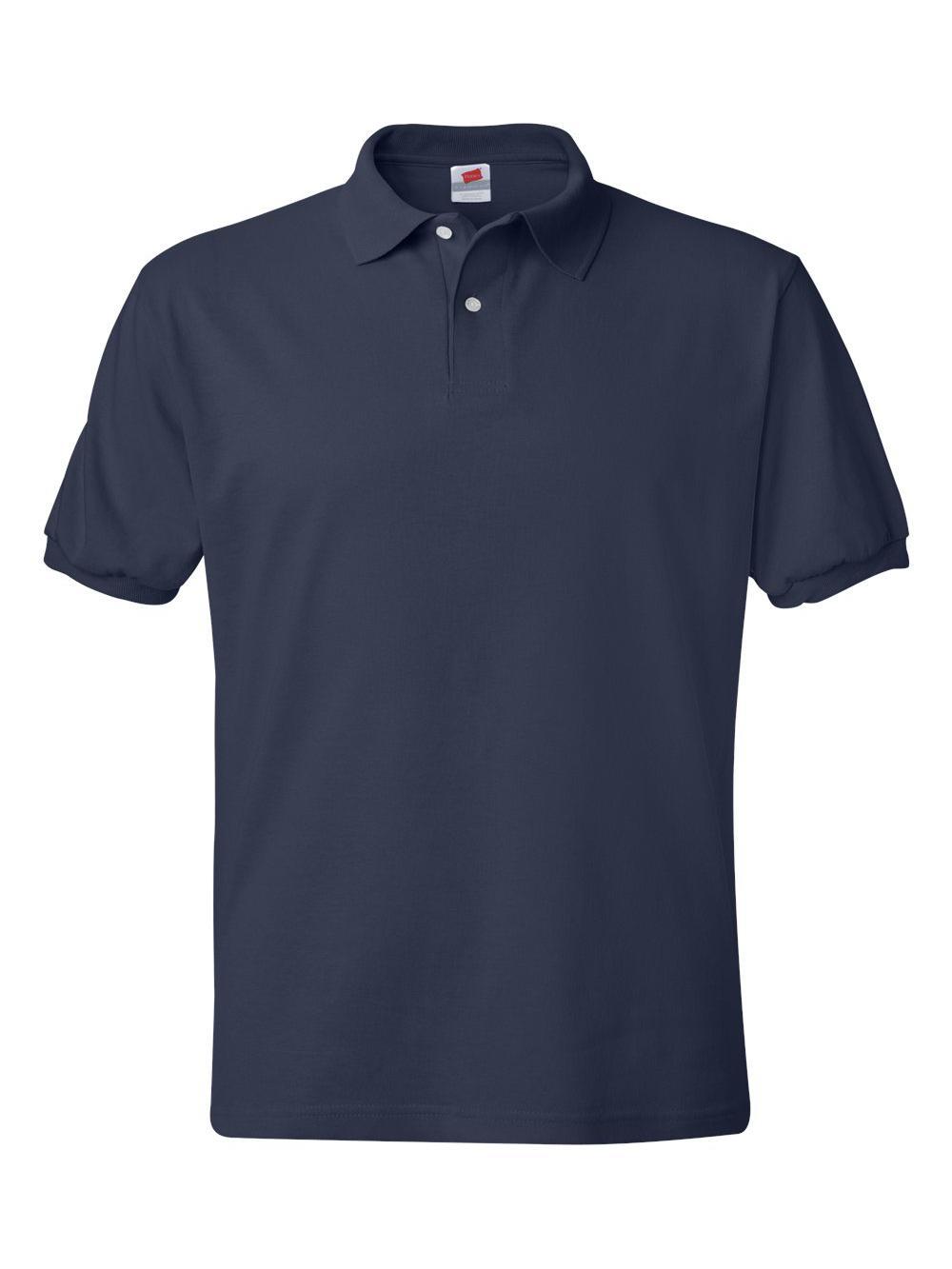 Hanes-Ecosmart-Jersey-Sport-Shirt-054X thumbnail 33