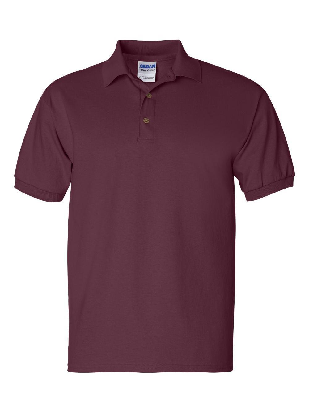 Gildan-Ultra-Cotton-Jersey-Sport-Shirt-2800 thumbnail 9