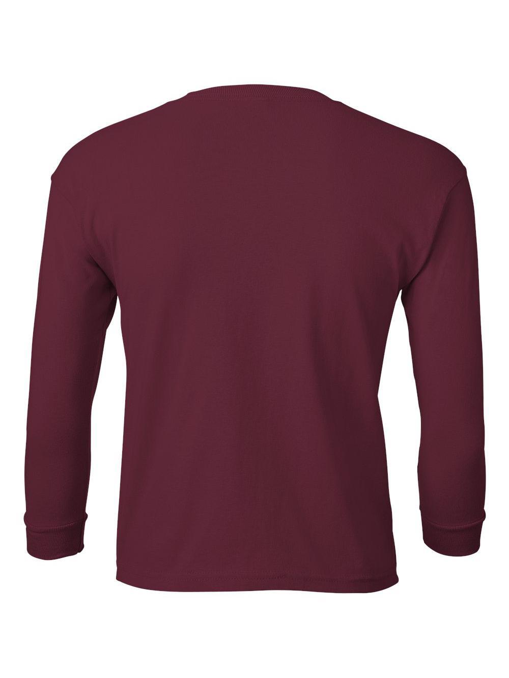 Gildan-Ultra-Cotton-Youth-Long-Sleeve-T-Shirt-2400B thumbnail 22