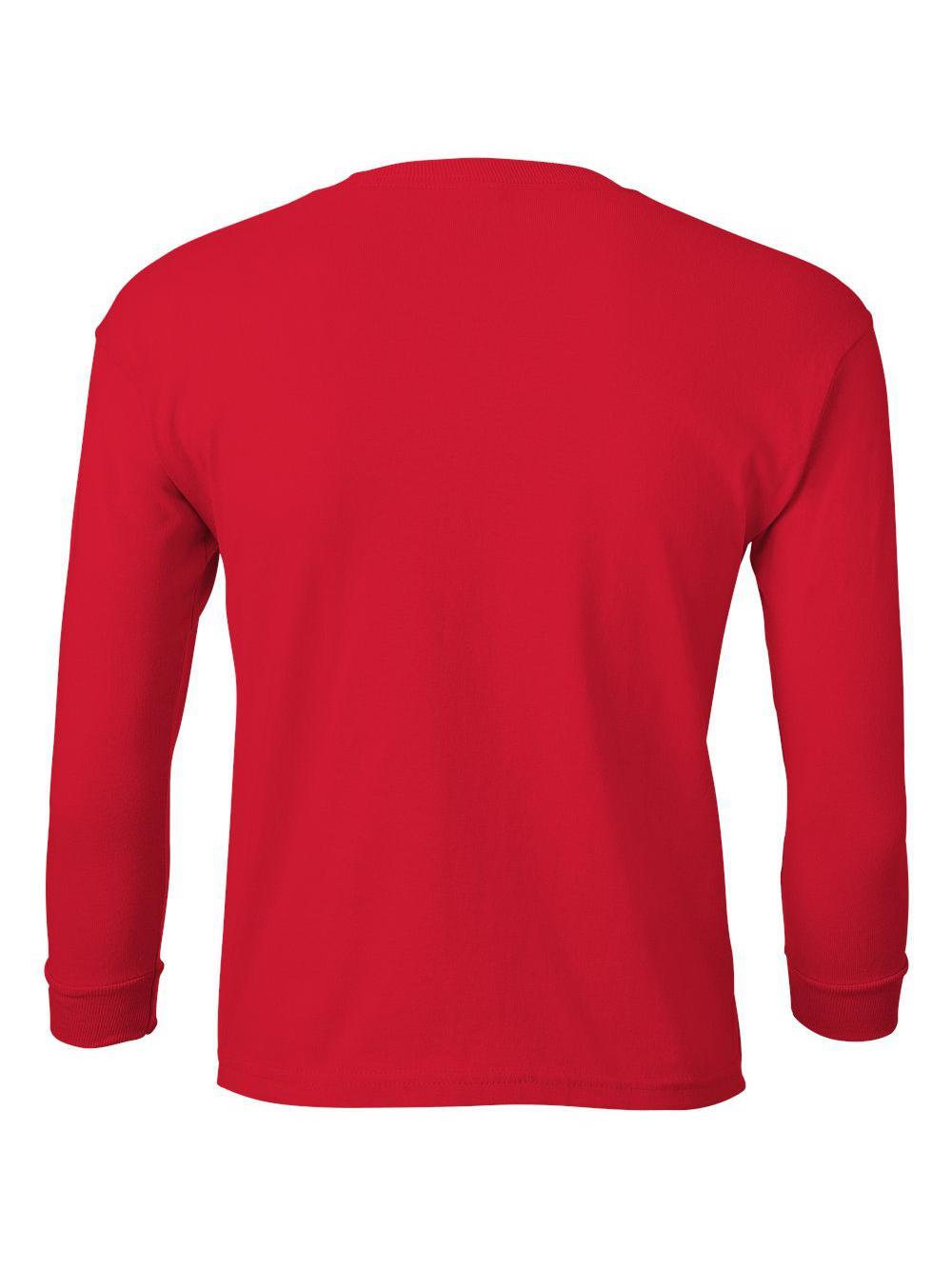 Gildan-Ultra-Cotton-Youth-Long-Sleeve-T-Shirt-2400B thumbnail 34