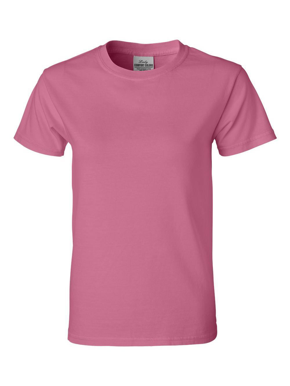 Comfort-Colors-Pigment-Dyed-Ringspun-Women-039-s-Short-Sleeve-T-Shirt-3333 thumbnail 14