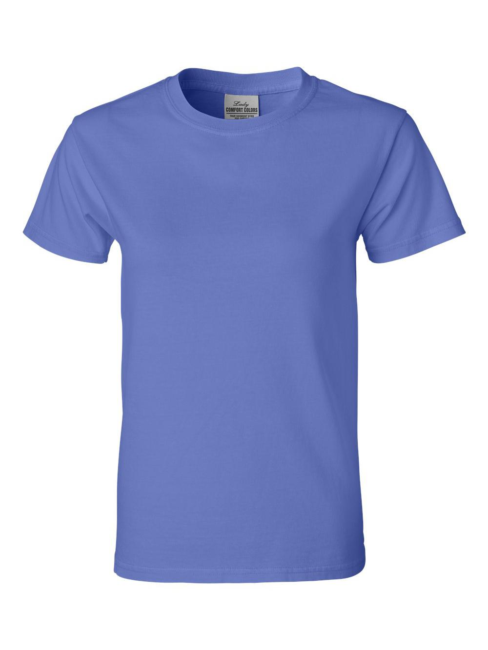 Comfort-Colors-Pigment-Dyed-Ringspun-Women-039-s-Short-Sleeve-T-Shirt-3333 thumbnail 17
