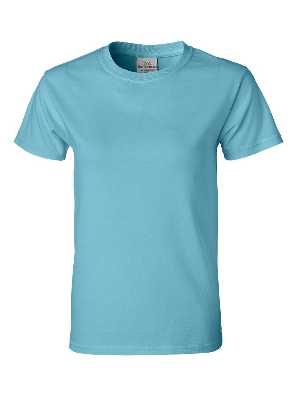 Comfort-Colors-Pigment-Dyed-Ringspun-Women-039-s-Short-Sleeve-T-Shirt-3333 thumbnail 22