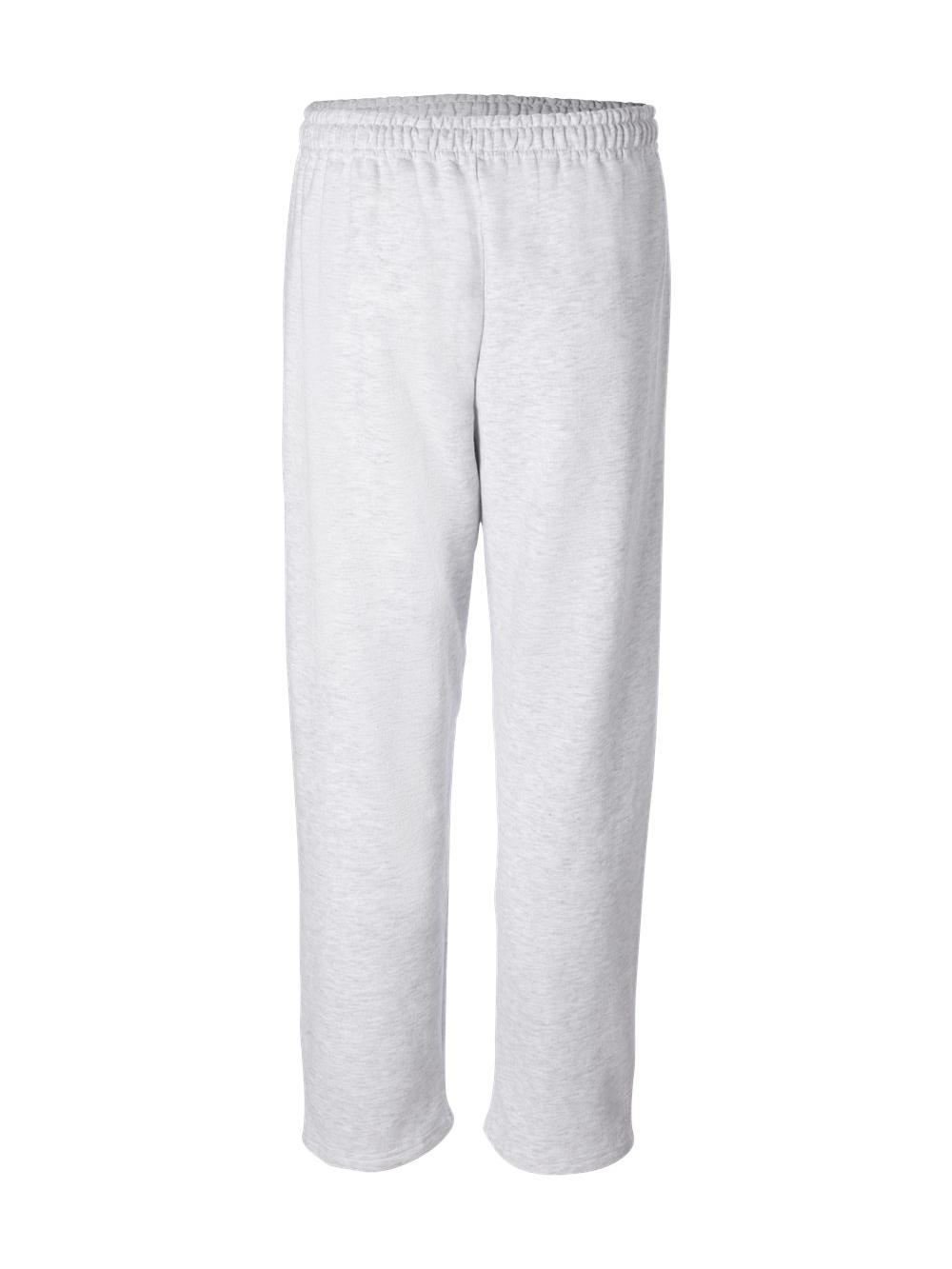 Gildan-Heavy-Blend-Open-Bottom-Sweatpants-18400 thumbnail 4