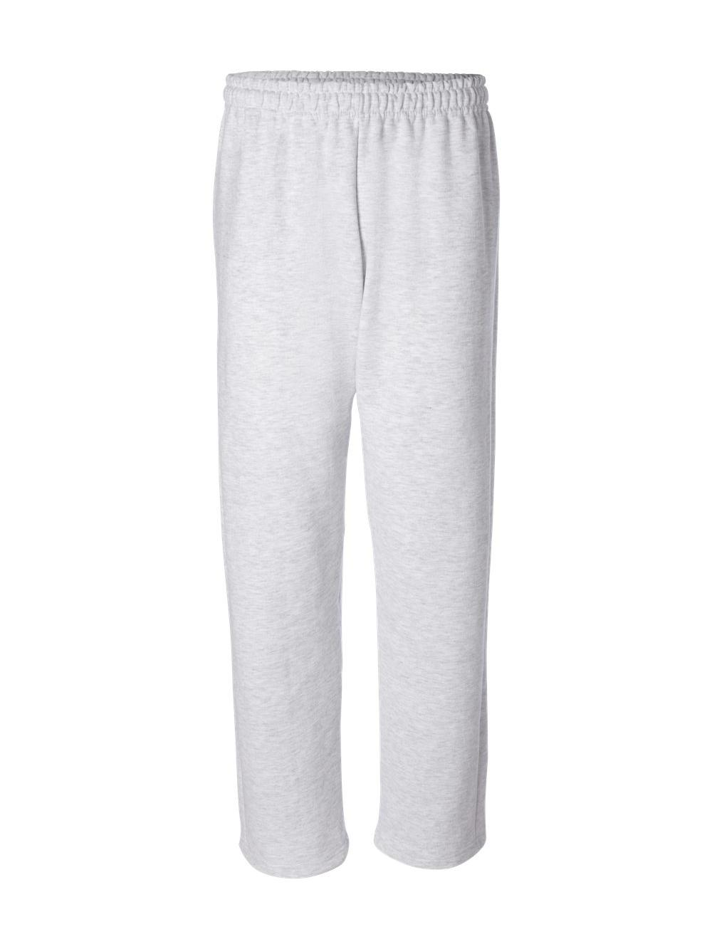 Gildan-Heavy-Blend-Open-Bottom-Sweatpants-18400 thumbnail 3