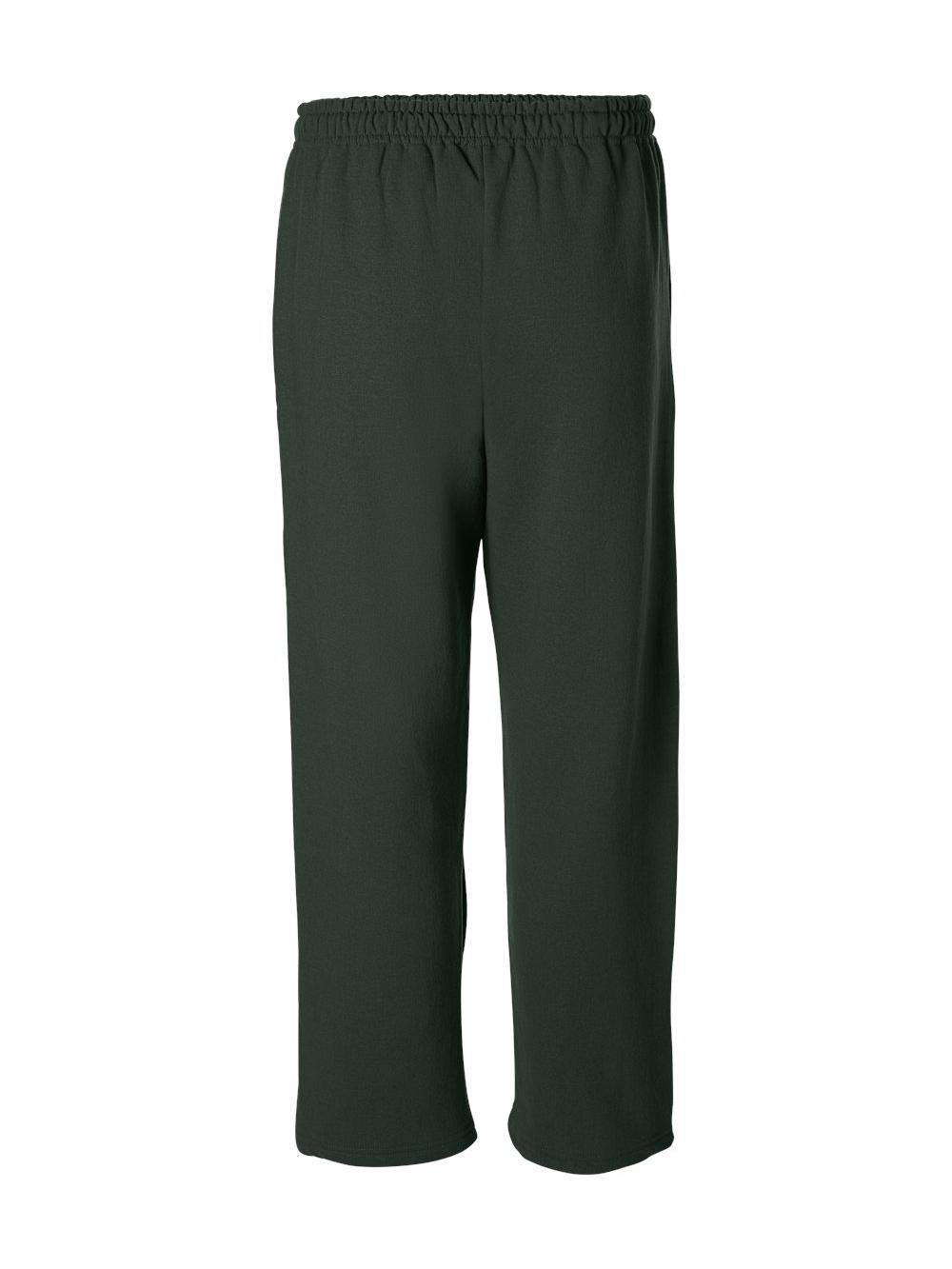 Gildan-Heavy-Blend-Open-Bottom-Sweatpants-18400 thumbnail 16