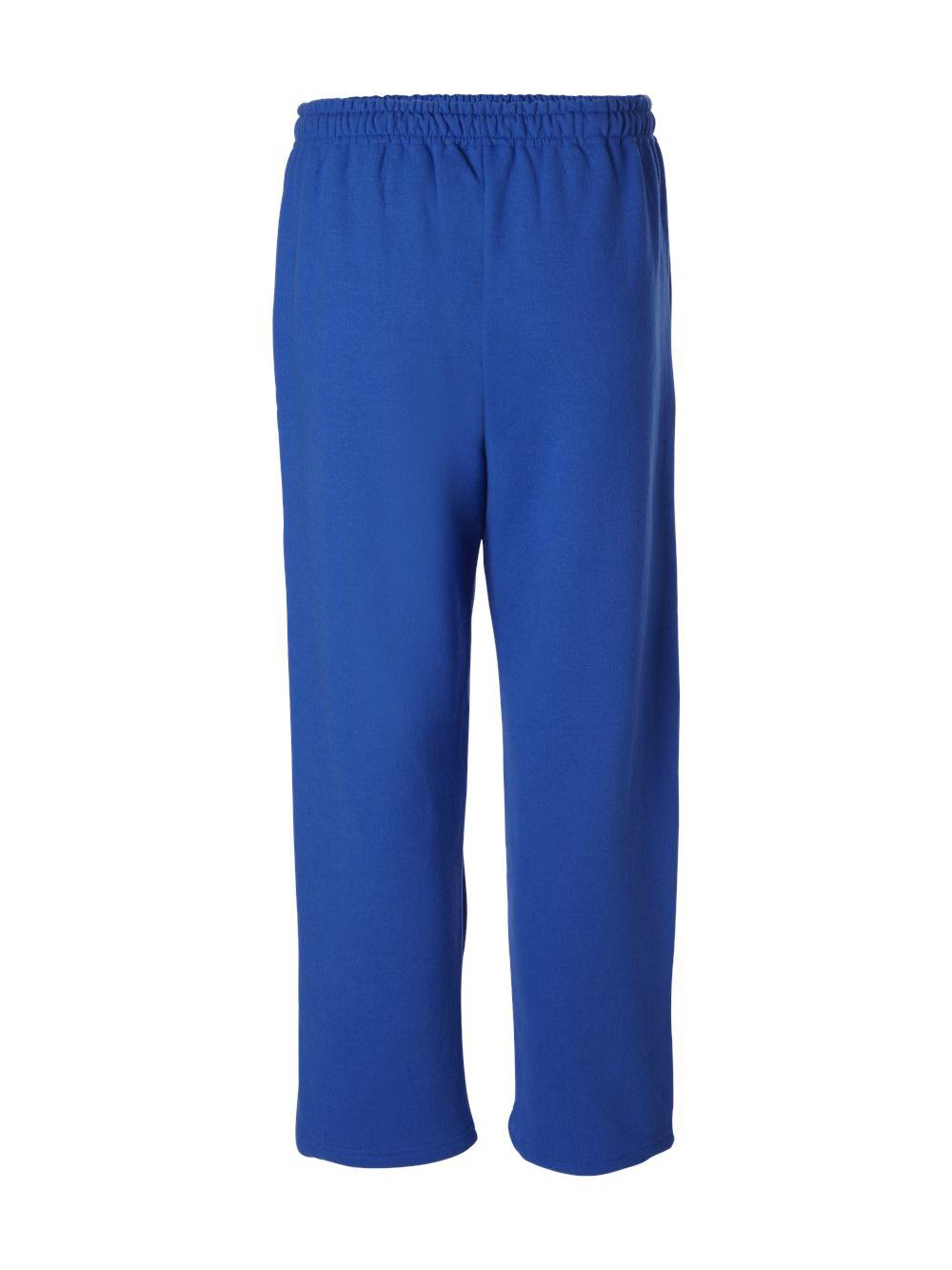 Gildan-Heavy-Blend-Open-Bottom-Sweatpants-18400 thumbnail 25