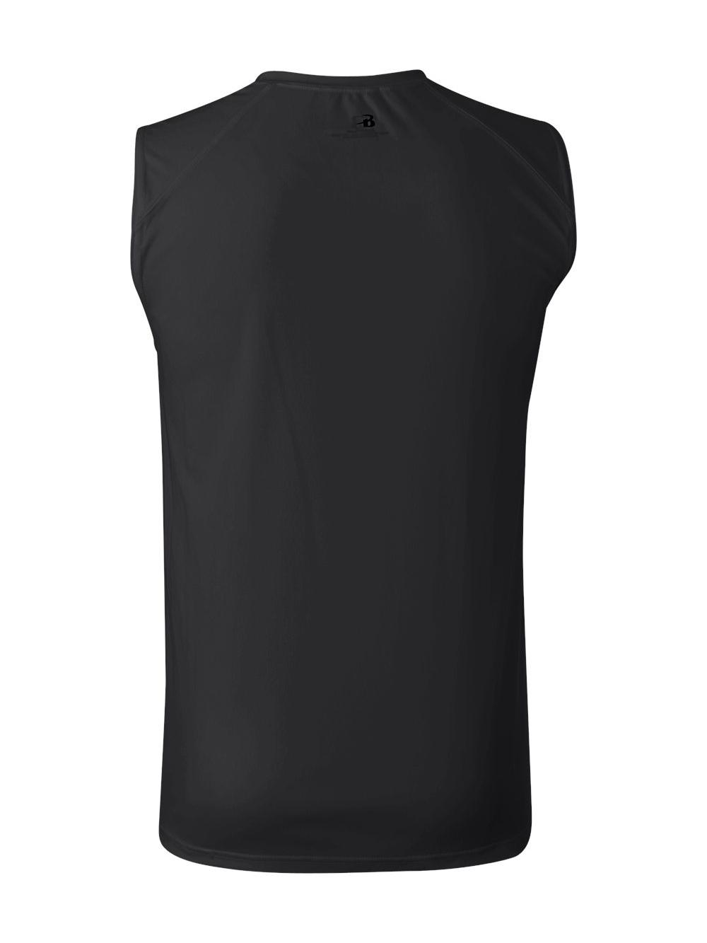 091a3fa640b8c Badger-B-Core-Sleeveless-T-Shirt-4130 thumbnail 4