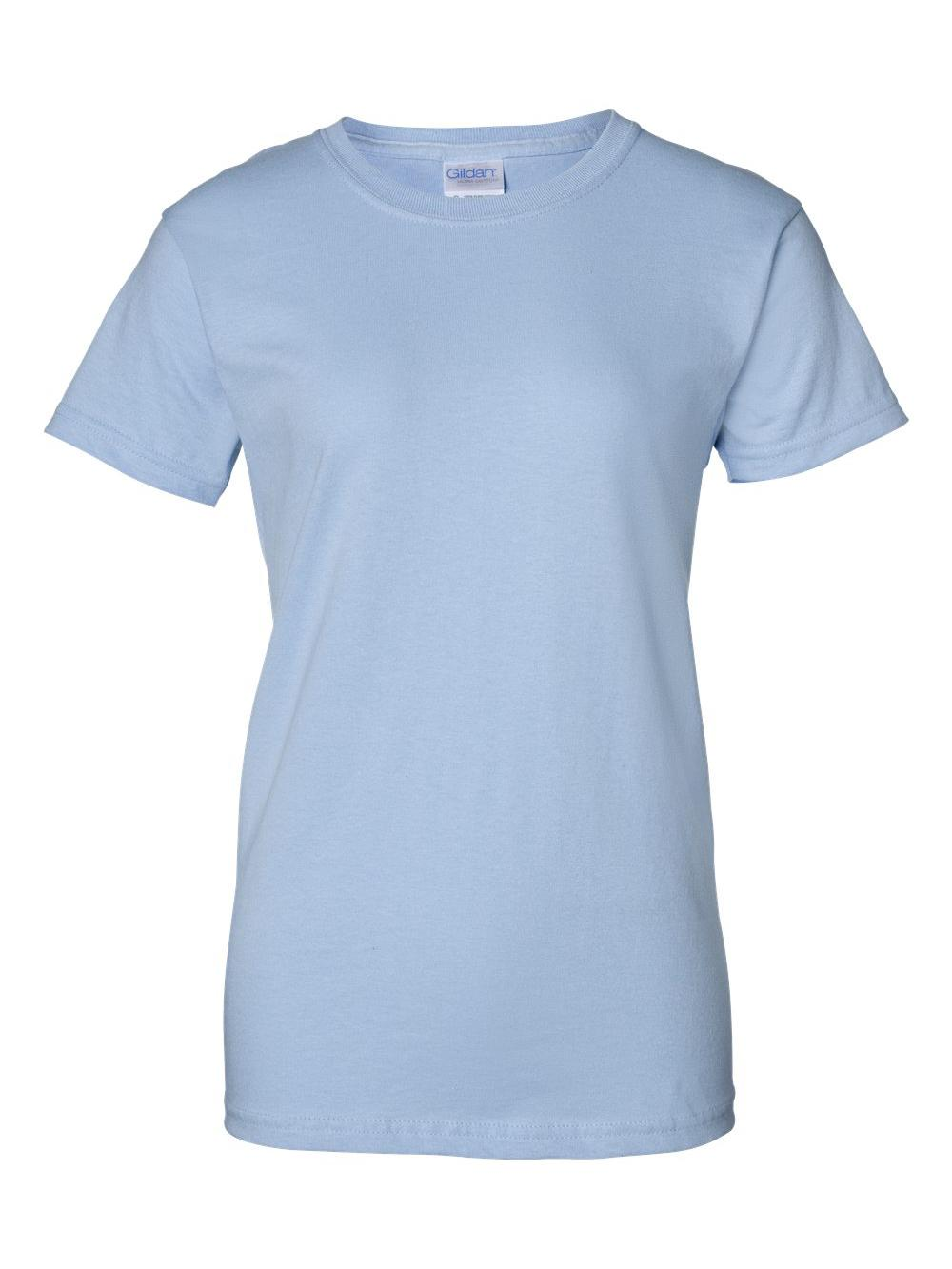Gildan-Ultra-Cotton-Women-039-s-T-Shirt-2000L thumbnail 33