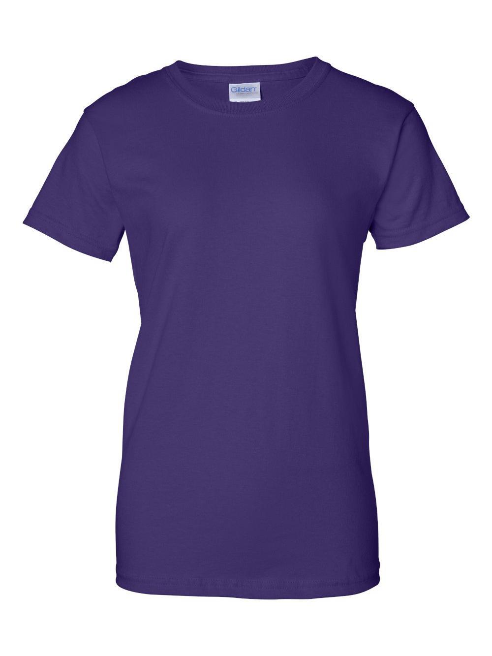 Gildan-Ultra-Cotton-Women-039-s-T-Shirt-2000L thumbnail 51
