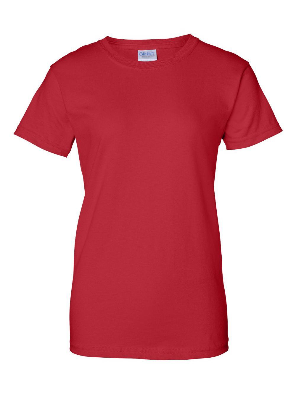 Gildan-Ultra-Cotton-Women-039-s-T-Shirt-2000L thumbnail 54
