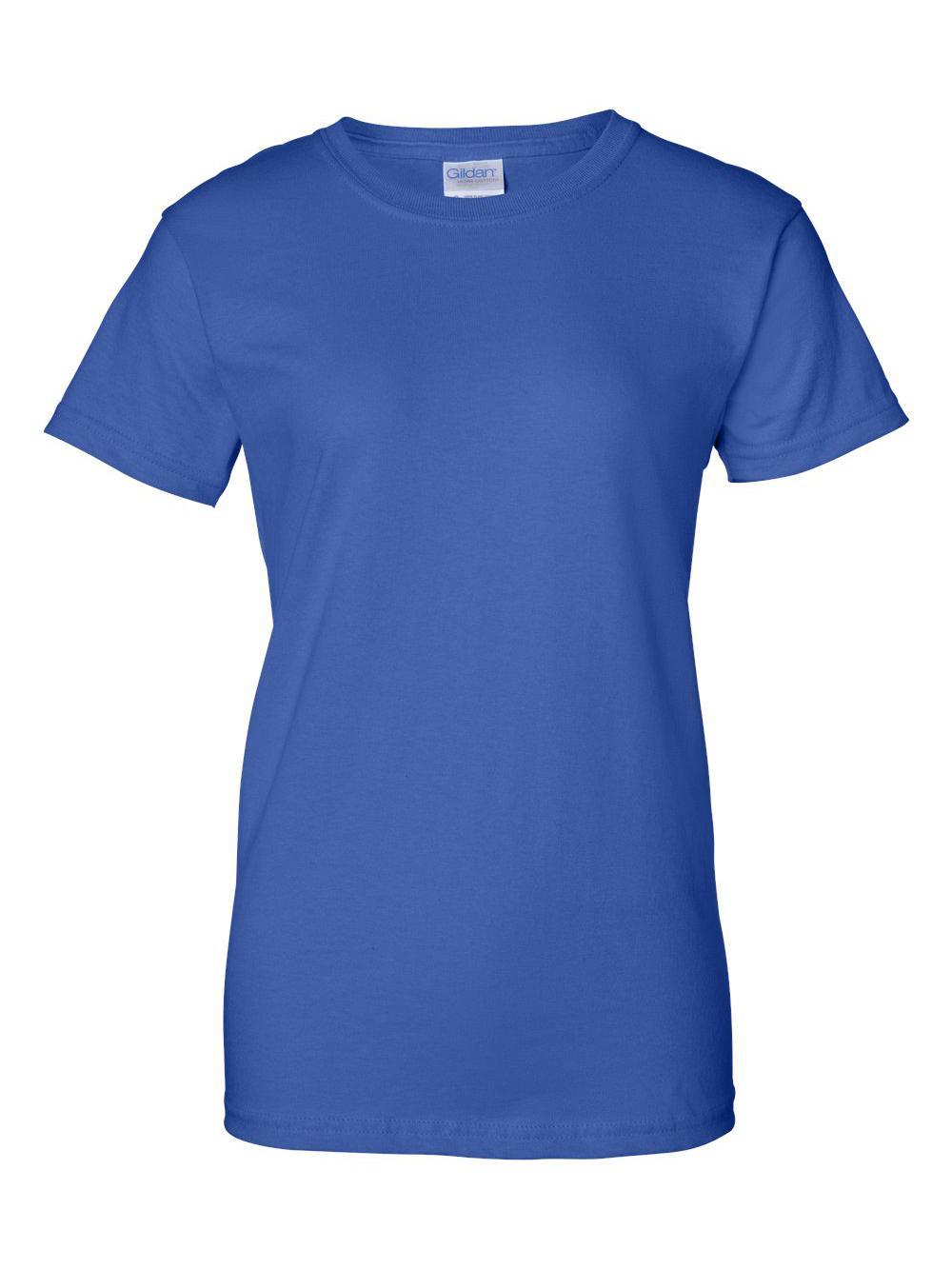 Gildan-Ultra-Cotton-Women-039-s-T-Shirt-2000L thumbnail 57