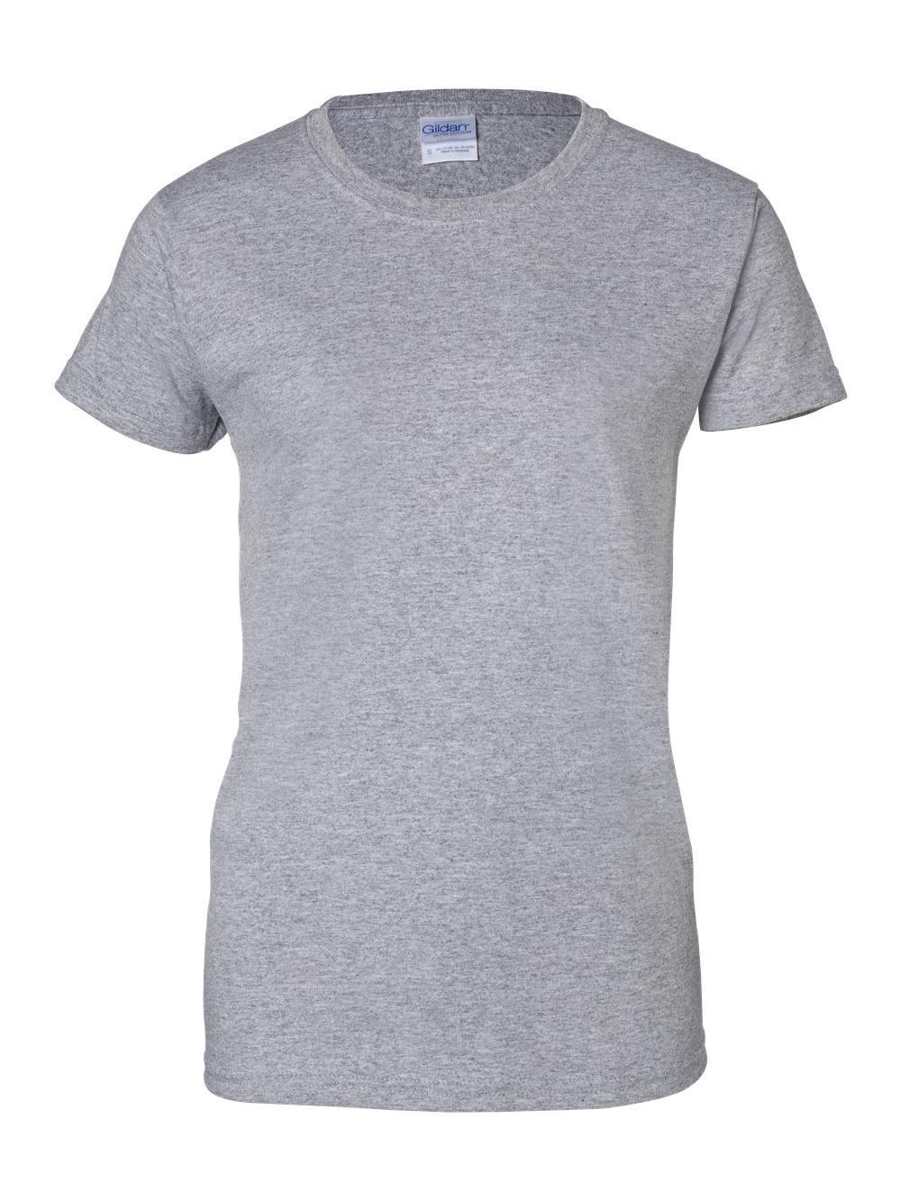Gildan-Ultra-Cotton-Women-039-s-T-Shirt-2000L thumbnail 66