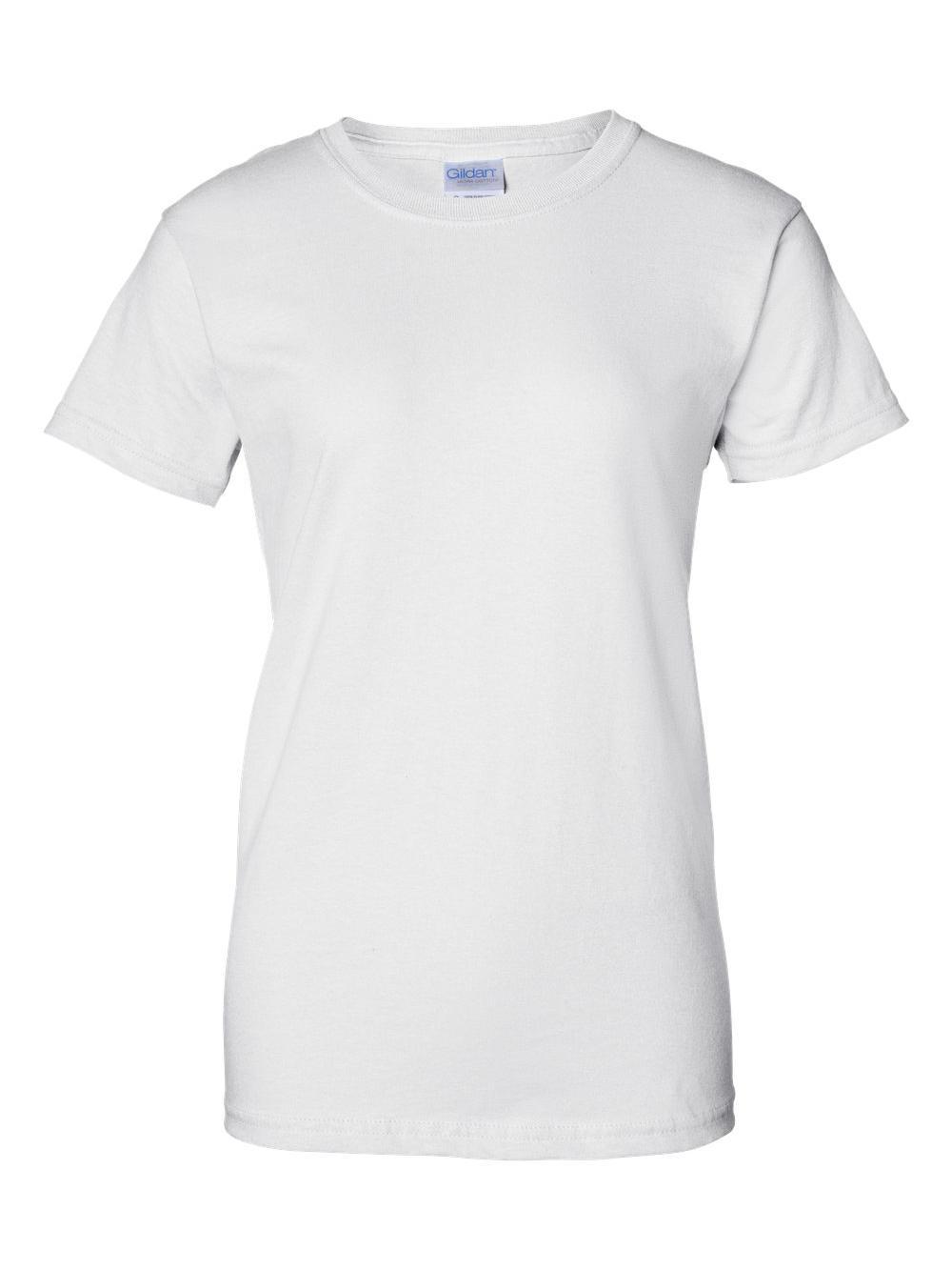 Gildan-Ultra-Cotton-Women-039-s-T-Shirt-2000L thumbnail 69