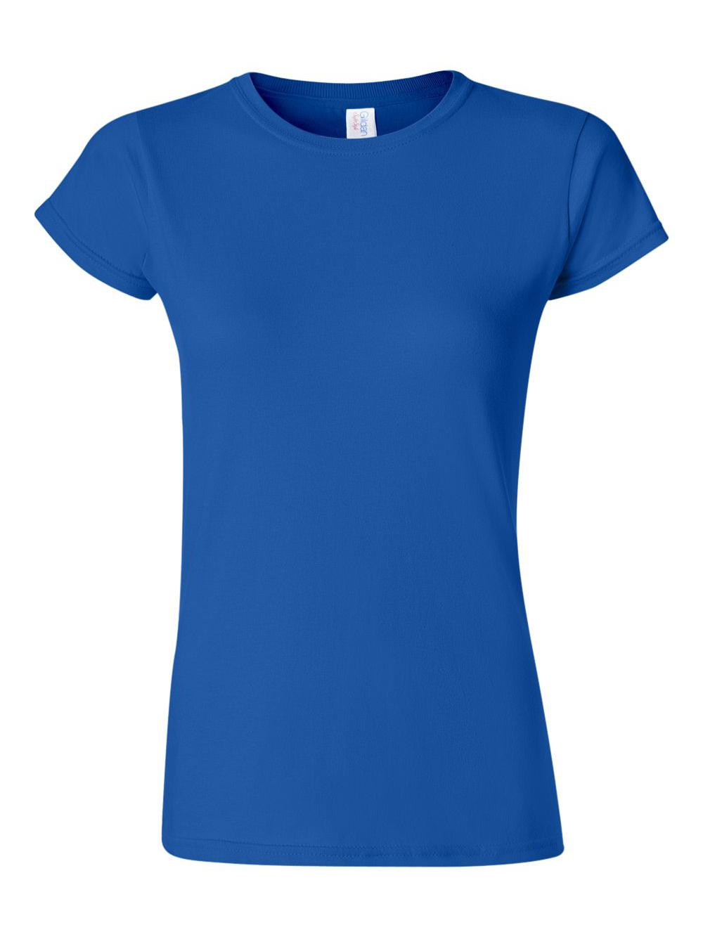 Gildan-Softstyle-Women-039-s-T-Shirt-64000L thumbnail 39