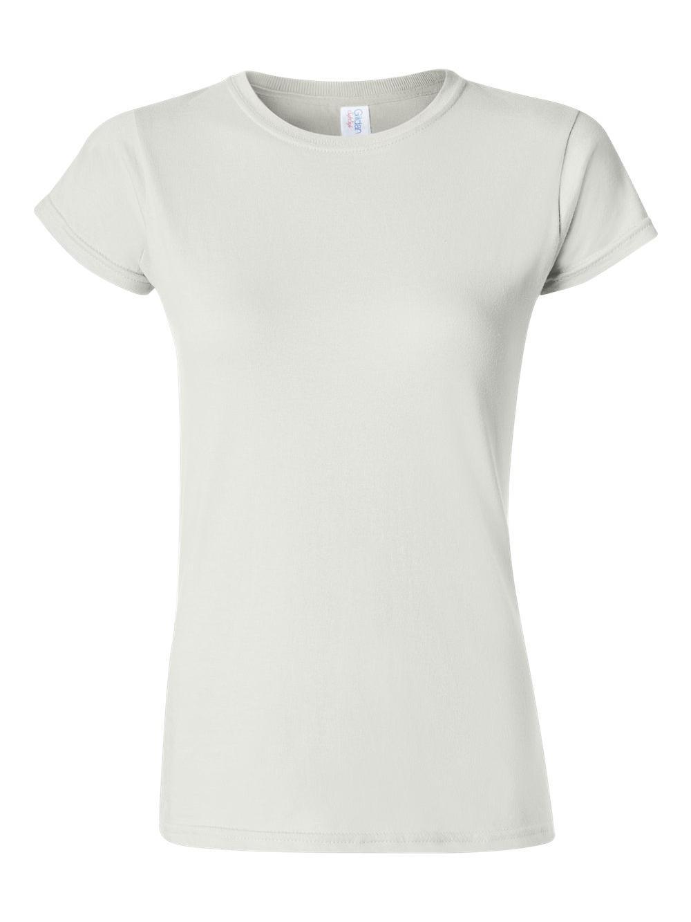 Gildan-Softstyle-Women-039-s-T-Shirt-64000L thumbnail 45
