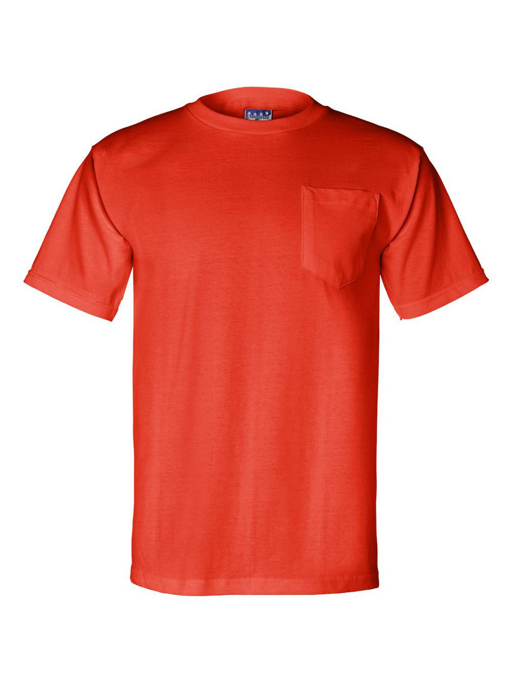 Bayside-Union-Made-Short-Sleeve-T-Shirt-with-a-Pocket-3015 thumbnail 21