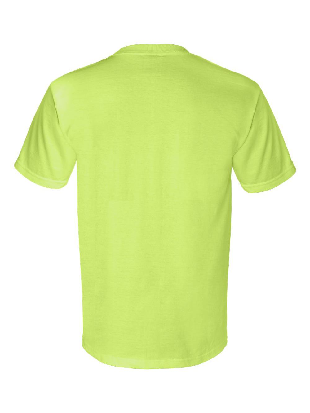 Bayside-Union-Made-Short-Sleeve-T-Shirt-with-a-Pocket-3015 thumbnail 16