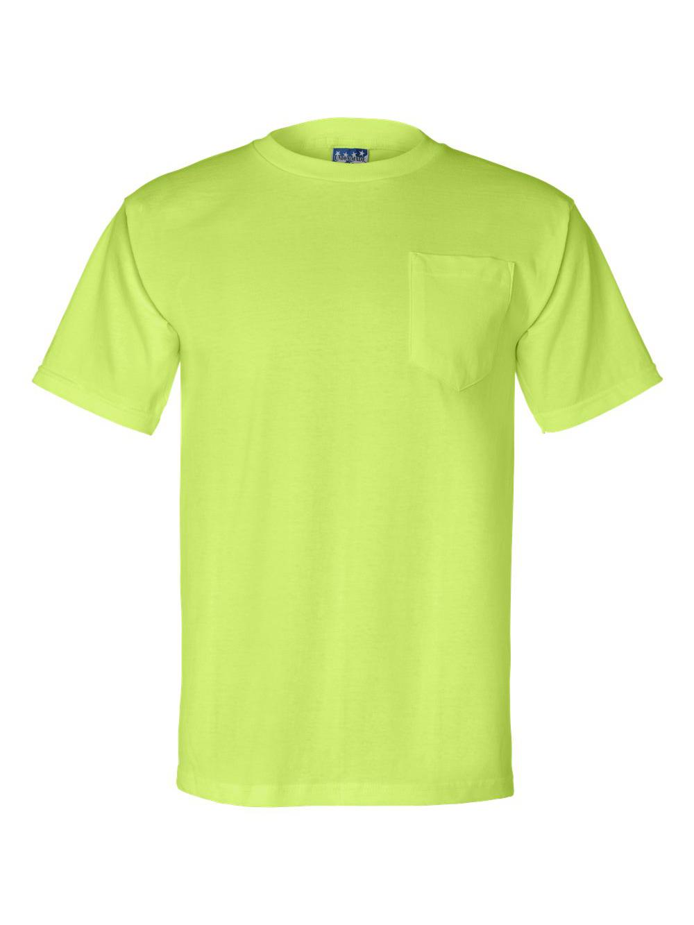 Bayside-Union-Made-Short-Sleeve-T-Shirt-with-a-Pocket-3015 thumbnail 15