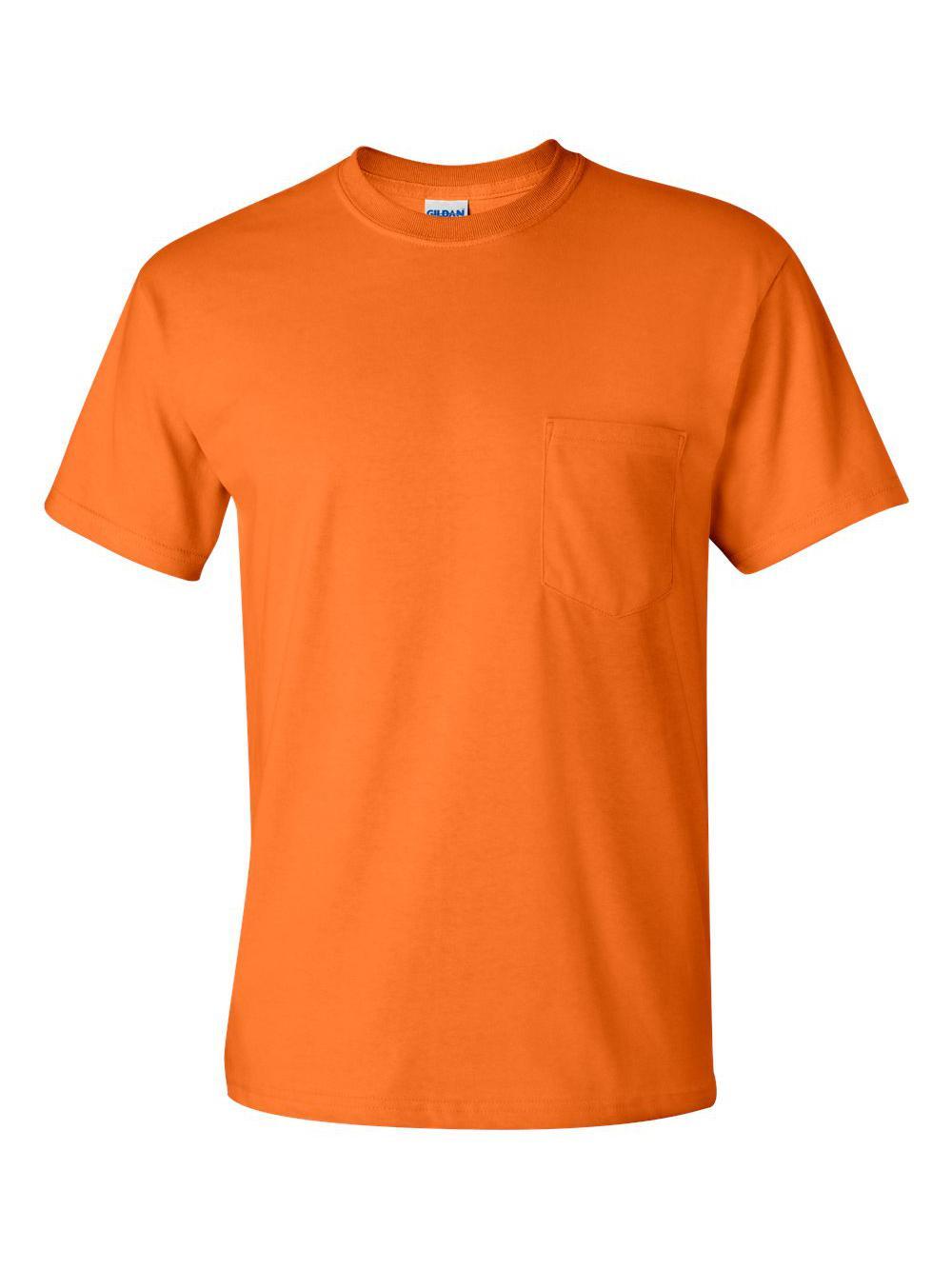 Gildan-Ultra-Cotton-T-Shirt-with-a-Pocket-2300 thumbnail 36