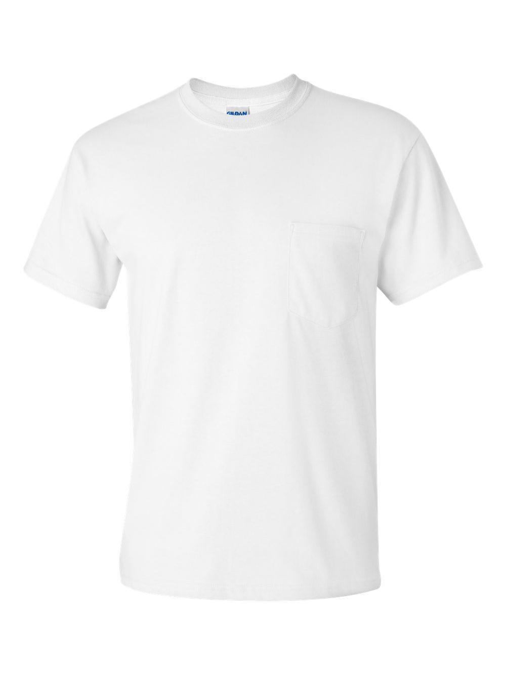 Gildan-Ultra-Cotton-T-Shirt-with-a-Pocket-2300 thumbnail 45