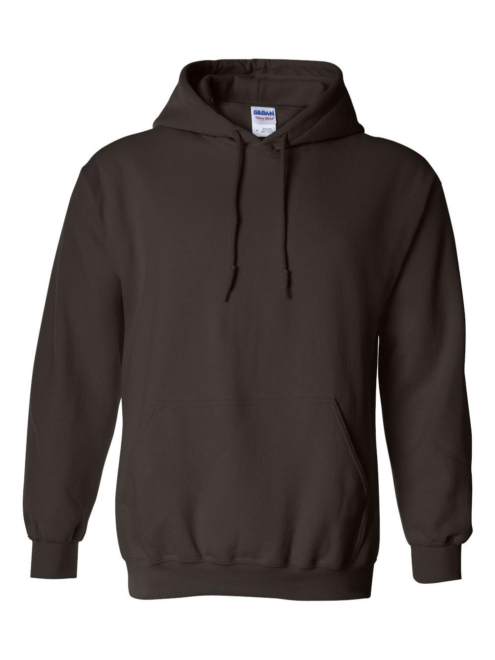 Gildan-Heavy-Blend-Hooded-Sweatshirt-18500 miniatura 27
