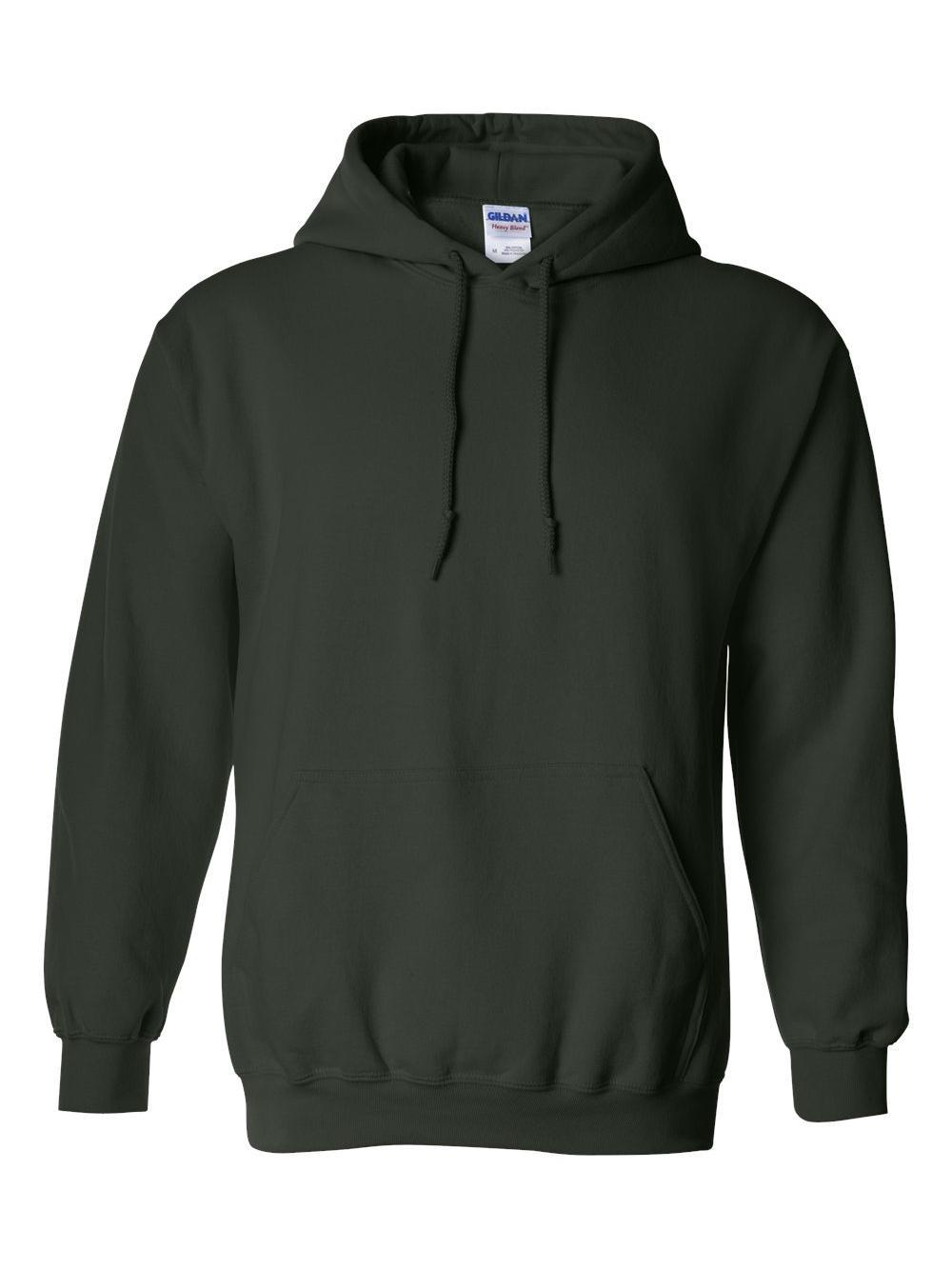 Gildan-Heavy-Blend-Hooded-Sweatshirt-18500 miniatura 33