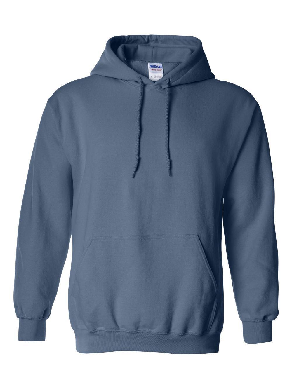 Gildan-Heavy-Blend-Hooded-Sweatshirt-18500 miniatura 63