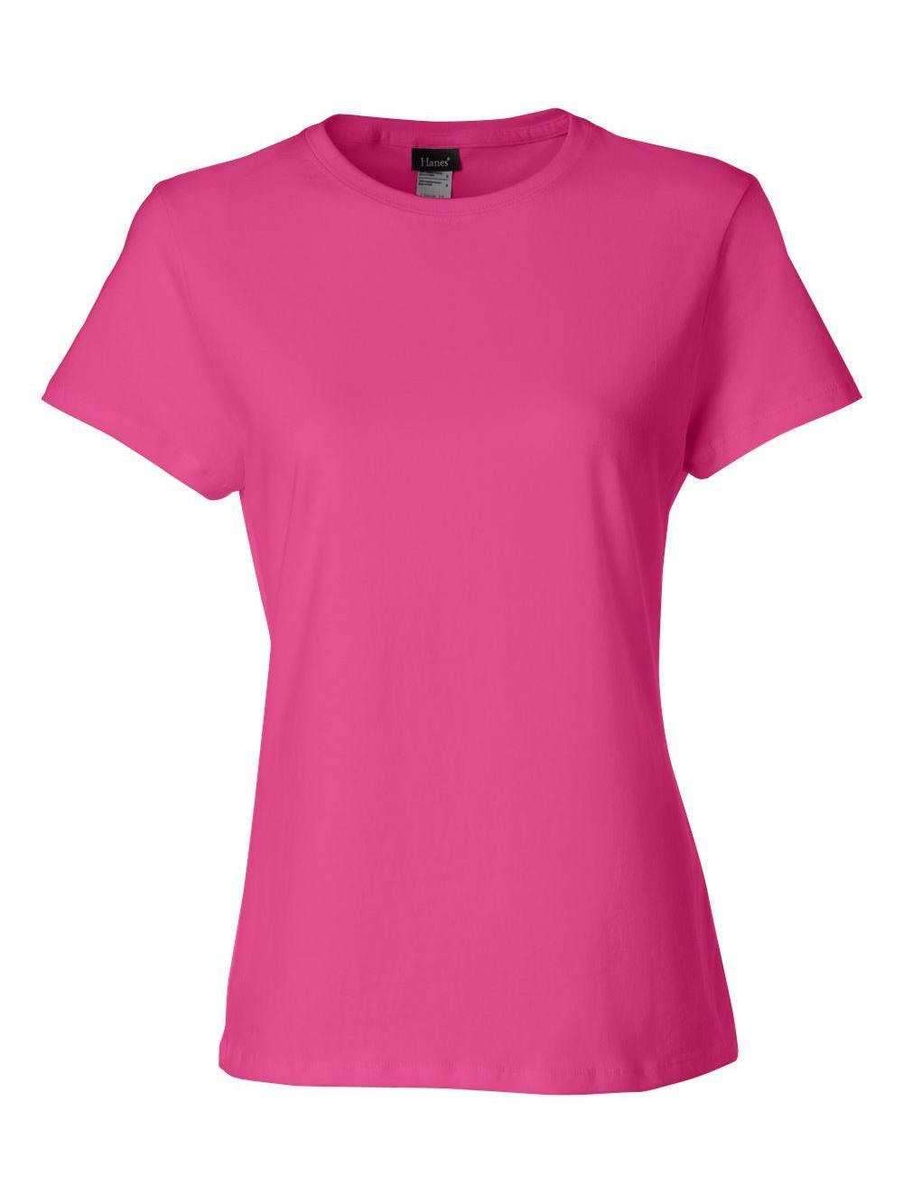 Hanes-Nano-T-Women-039-s-T-Shirt-SL04 thumbnail 39