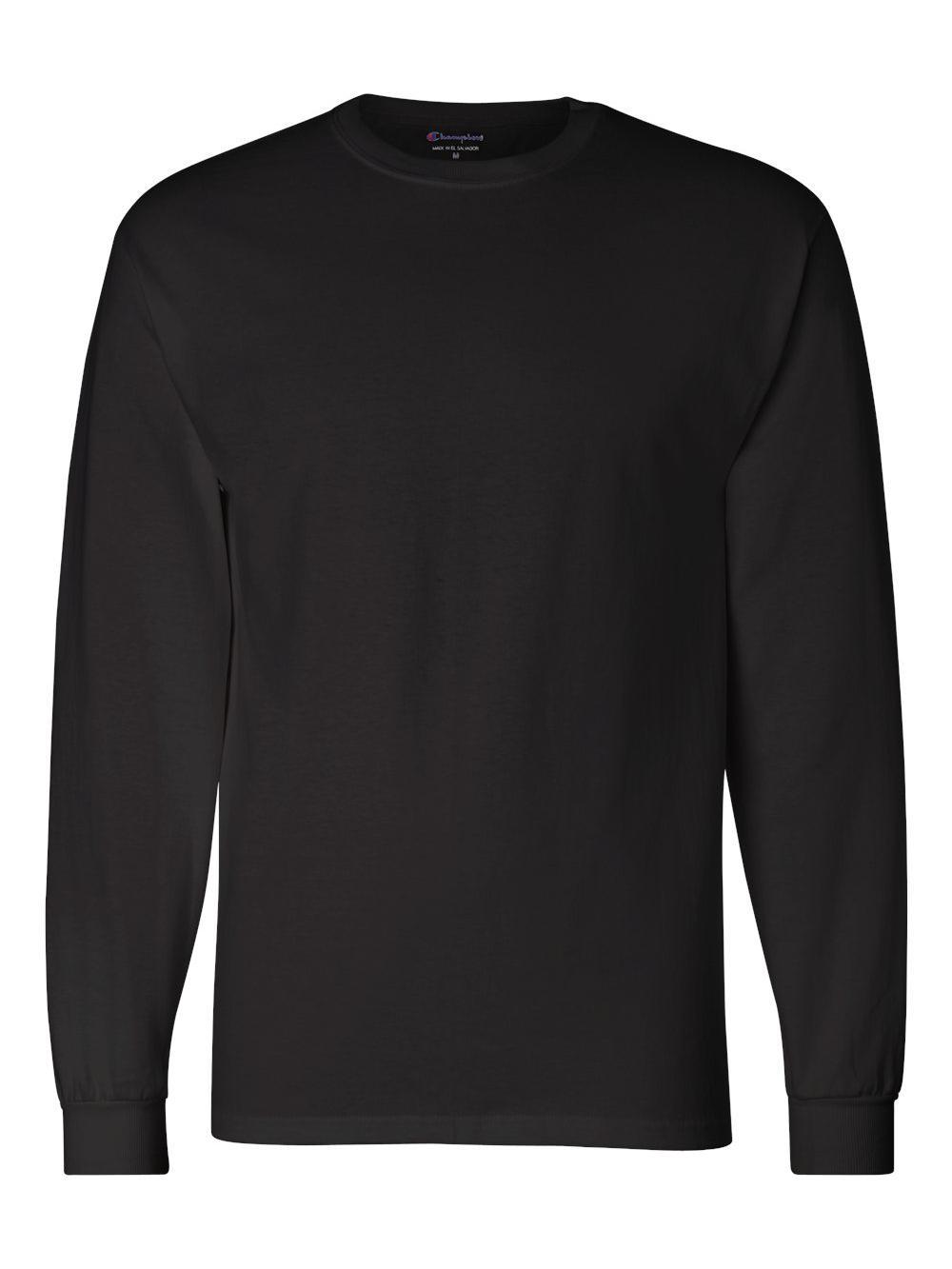 Champion-Long-Sleeve-T-Shirt-CC8C thumbnail 3