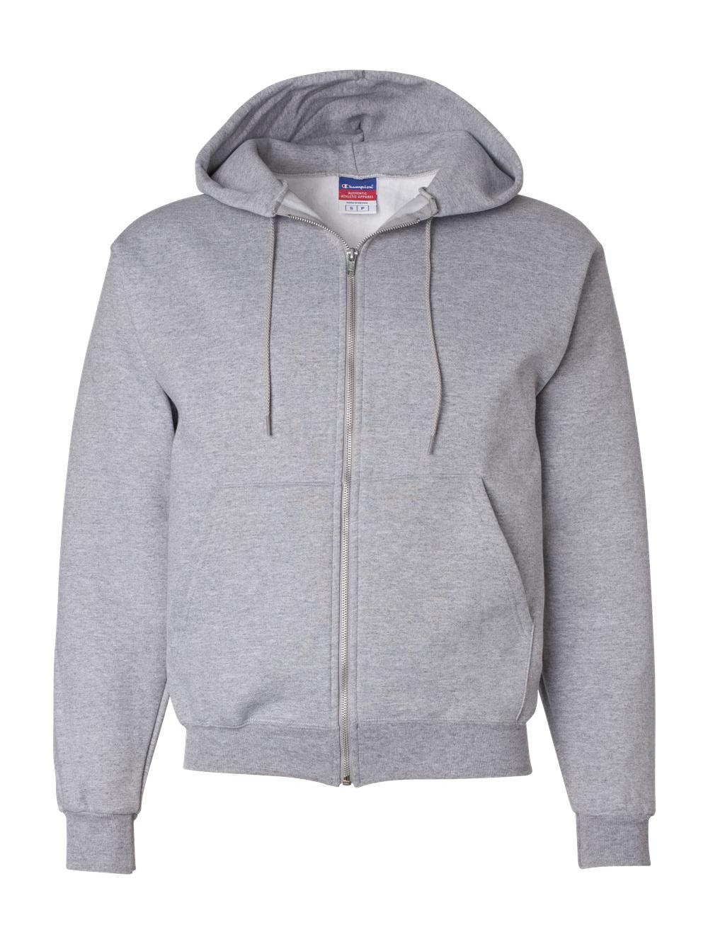 40d86512cef7 2 Champion Double Dry Action Fleece Full Zip Hoodies S800 M Light ...