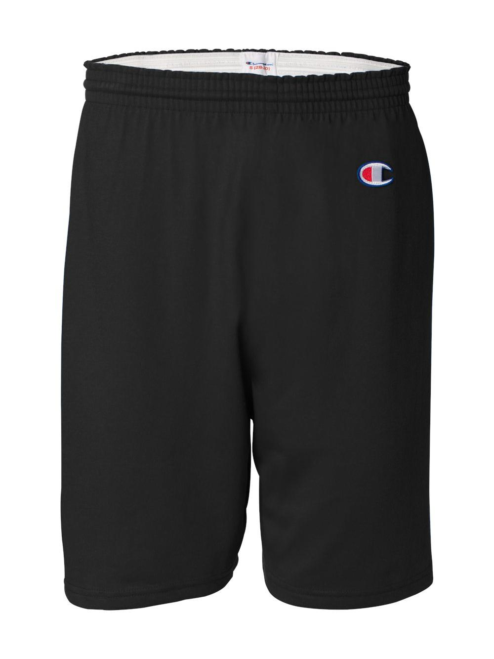 Champion-Cotton-Gym-Shorts-8187 thumbnail 3