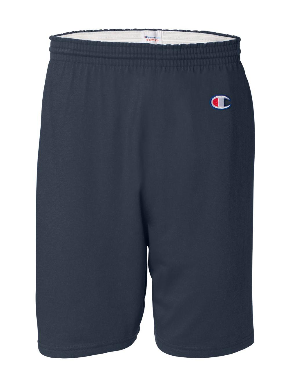 Champion-Cotton-Gym-Shorts-8187 thumbnail 6