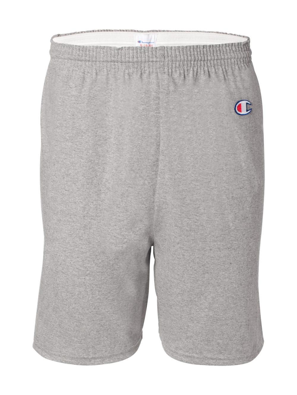 Champion-Cotton-Gym-Shorts-8187 thumbnail 9