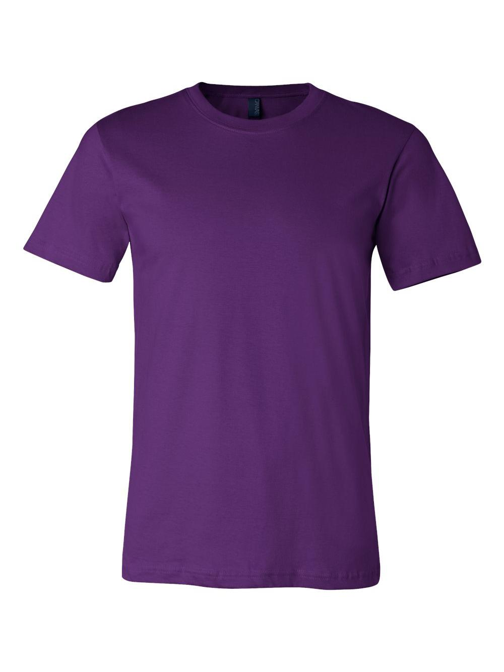 Bella-Canvas-Unisex-Short-Sleeve-Jersey-Tee-3001 thumbnail 135