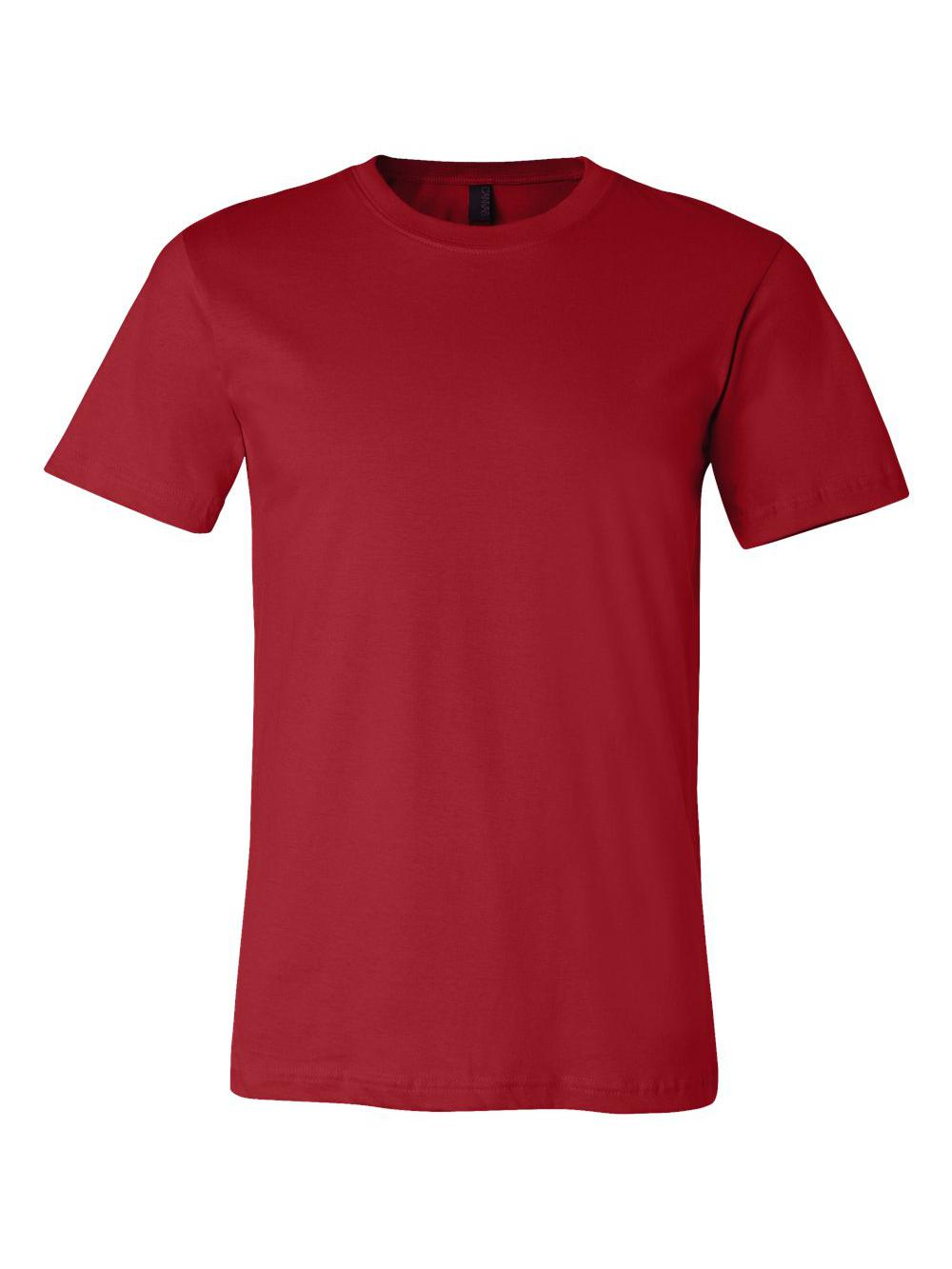 Bella-Canvas-Unisex-Short-Sleeve-Jersey-Tee-3001 thumbnail 30