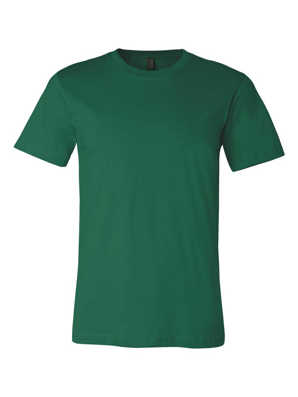 Bella-Canvas-Unisex-Short-Sleeve-Jersey-Tee-3001 thumbnail 48