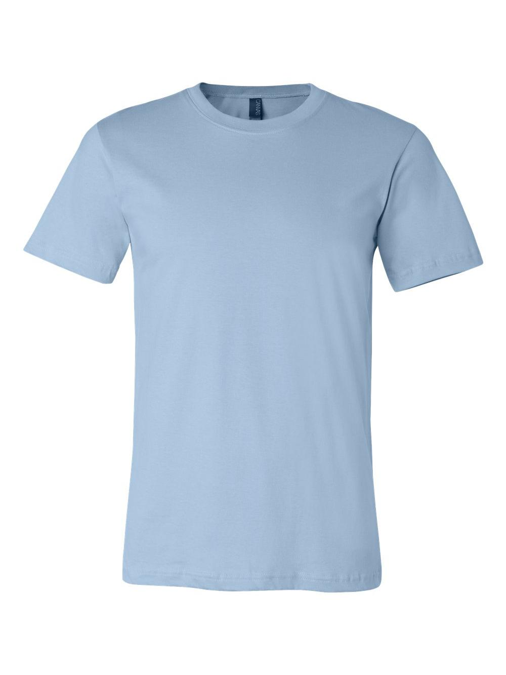 Bella-Canvas-Unisex-Short-Sleeve-Jersey-Tee-3001 thumbnail 63
