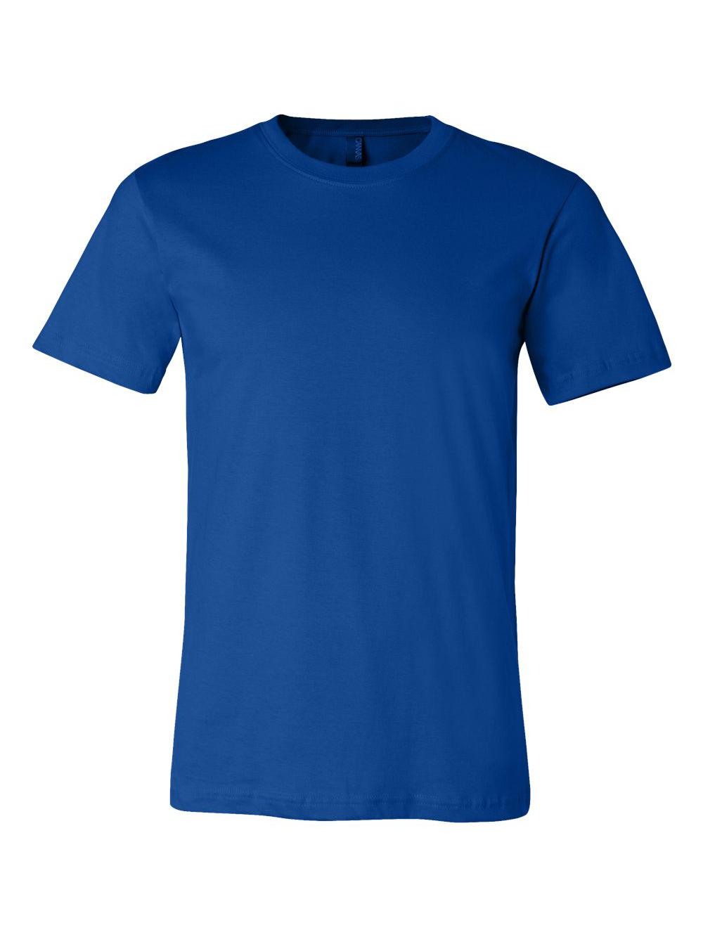 Bella-Canvas-Unisex-Short-Sleeve-Jersey-Tee-3001 thumbnail 138