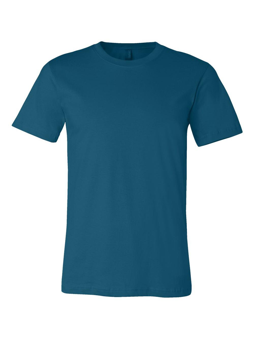 Bella-Canvas-Unisex-Short-Sleeve-Jersey-Tee-3001 thumbnail 45