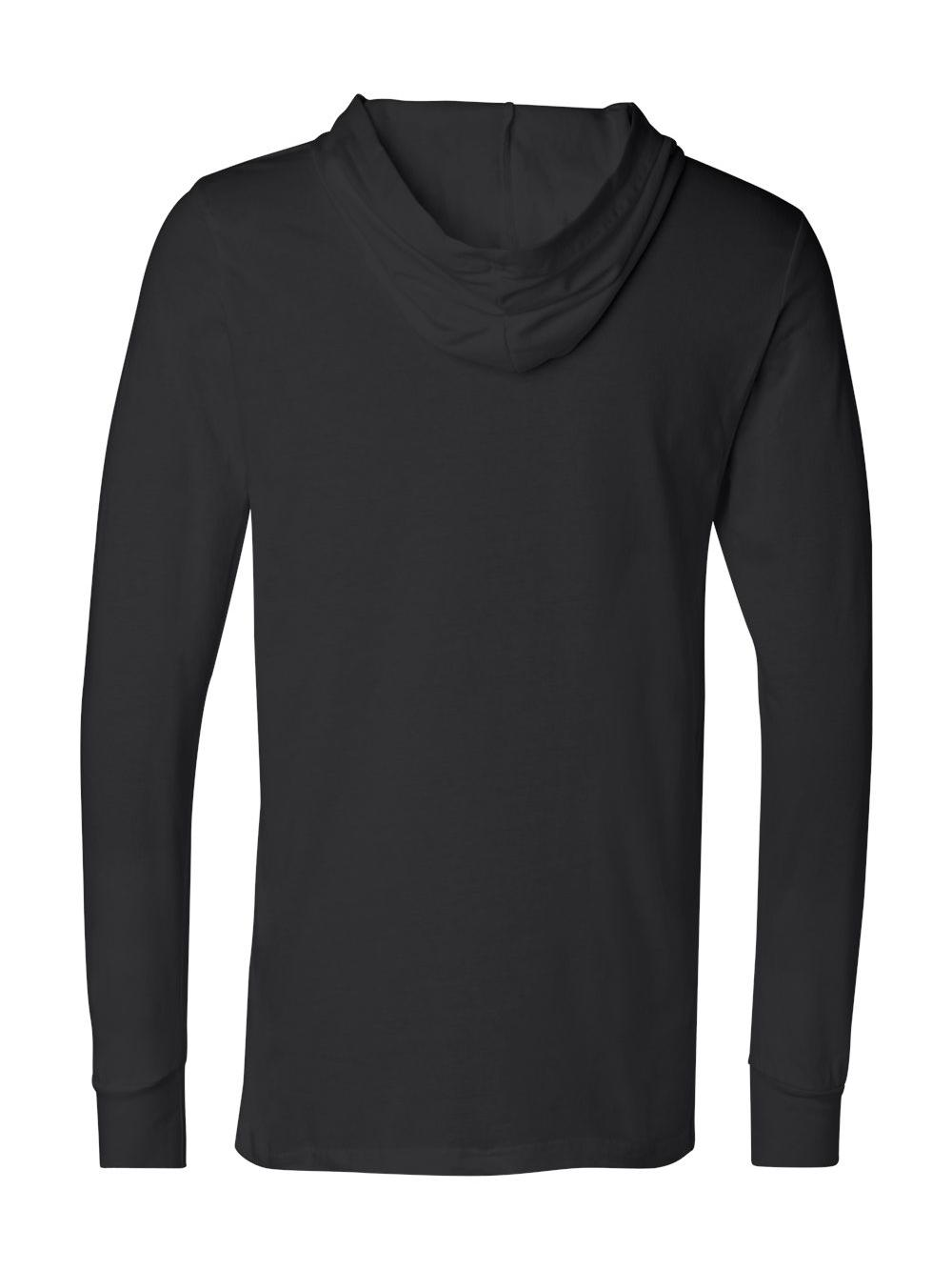 Bella-Canvas-Unisex-Long-Sleeve-Jersey-Hooded-Tee-3512 thumbnail 7