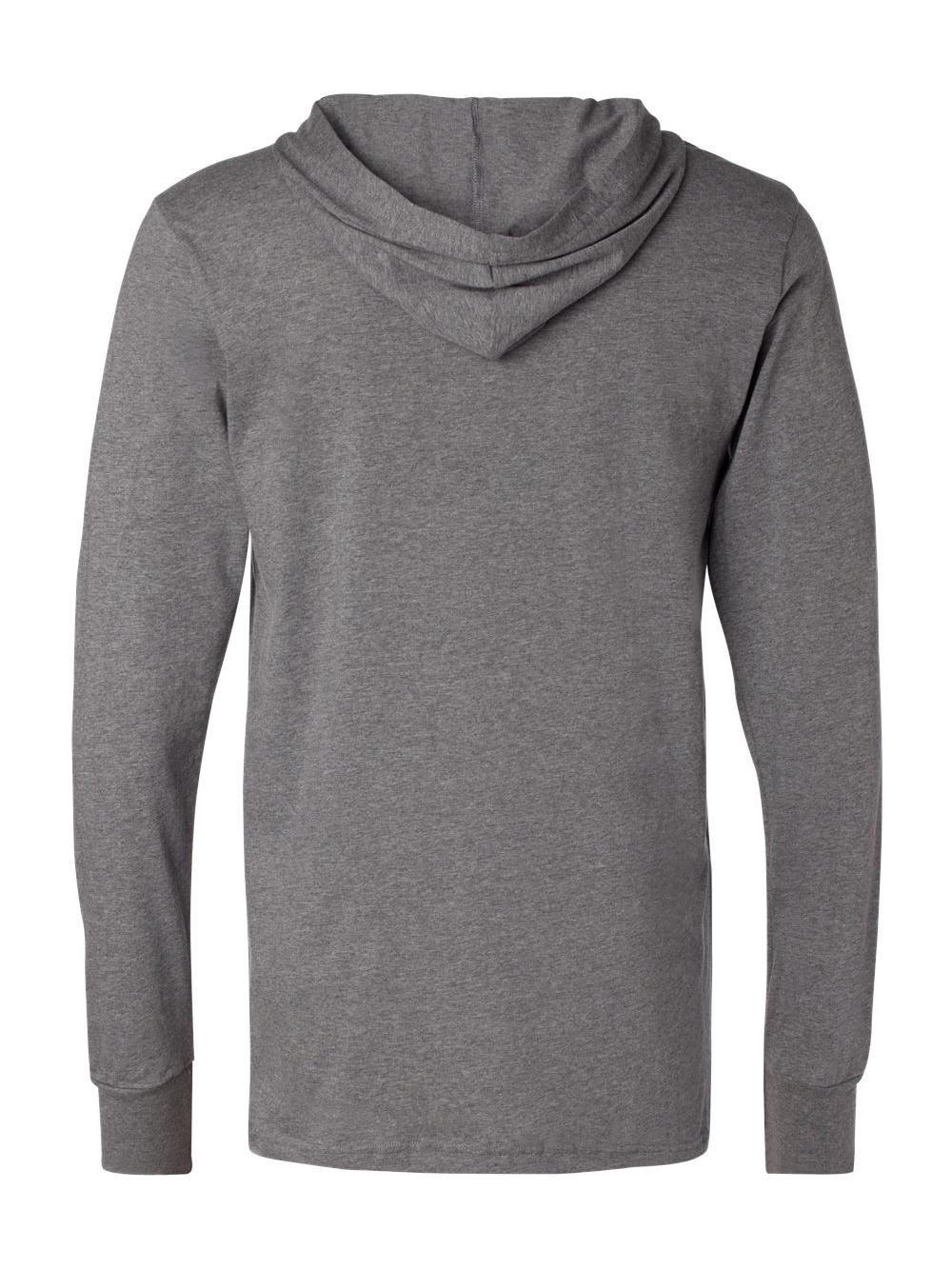 Bella-Canvas-Unisex-Long-Sleeve-Jersey-Hooded-Tee-3512 thumbnail 13