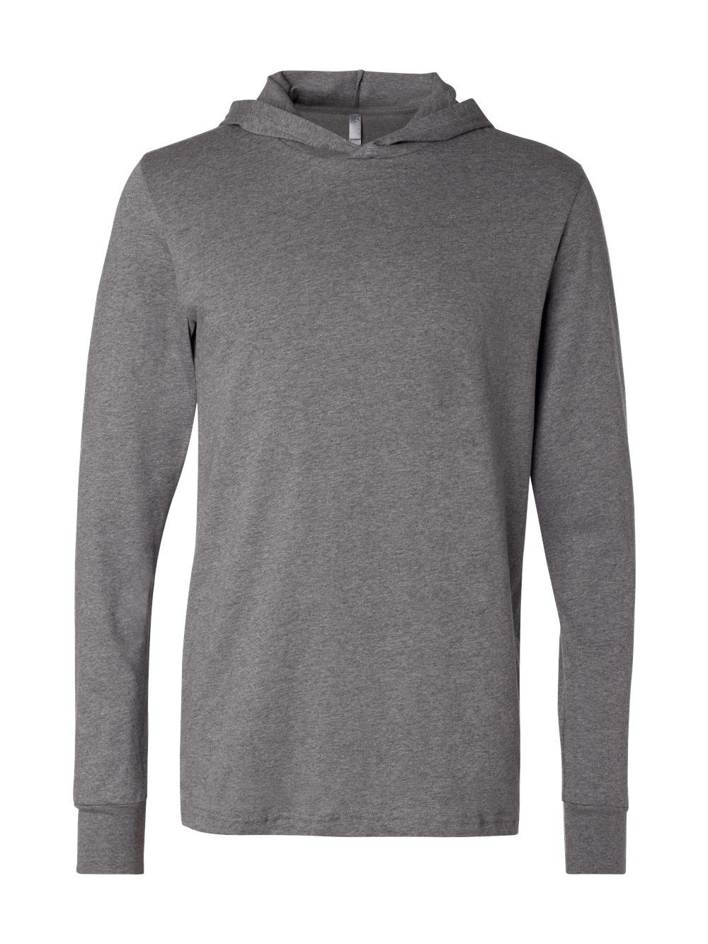 Bella-Canvas-Unisex-Long-Sleeve-Jersey-Hooded-Tee-3512 thumbnail 12