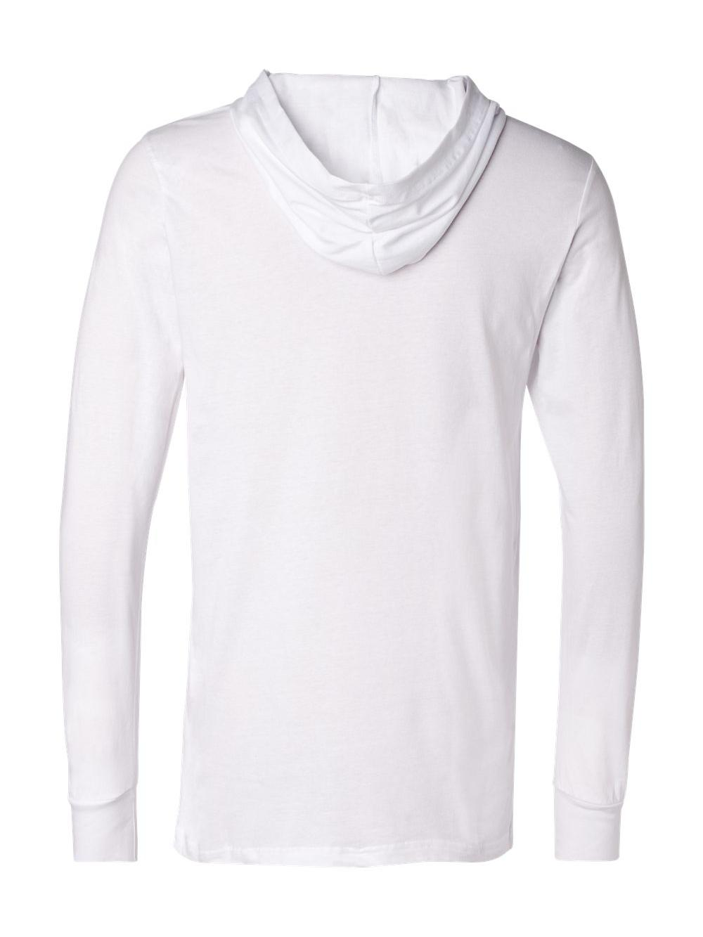 Bella-Canvas-Unisex-Long-Sleeve-Jersey-Hooded-Tee-3512 thumbnail 31